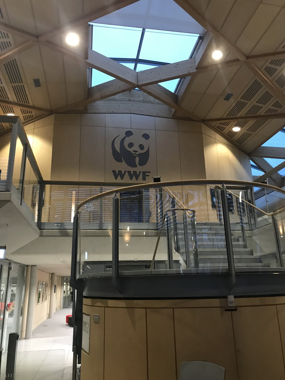 WWF Head Office Entrance
