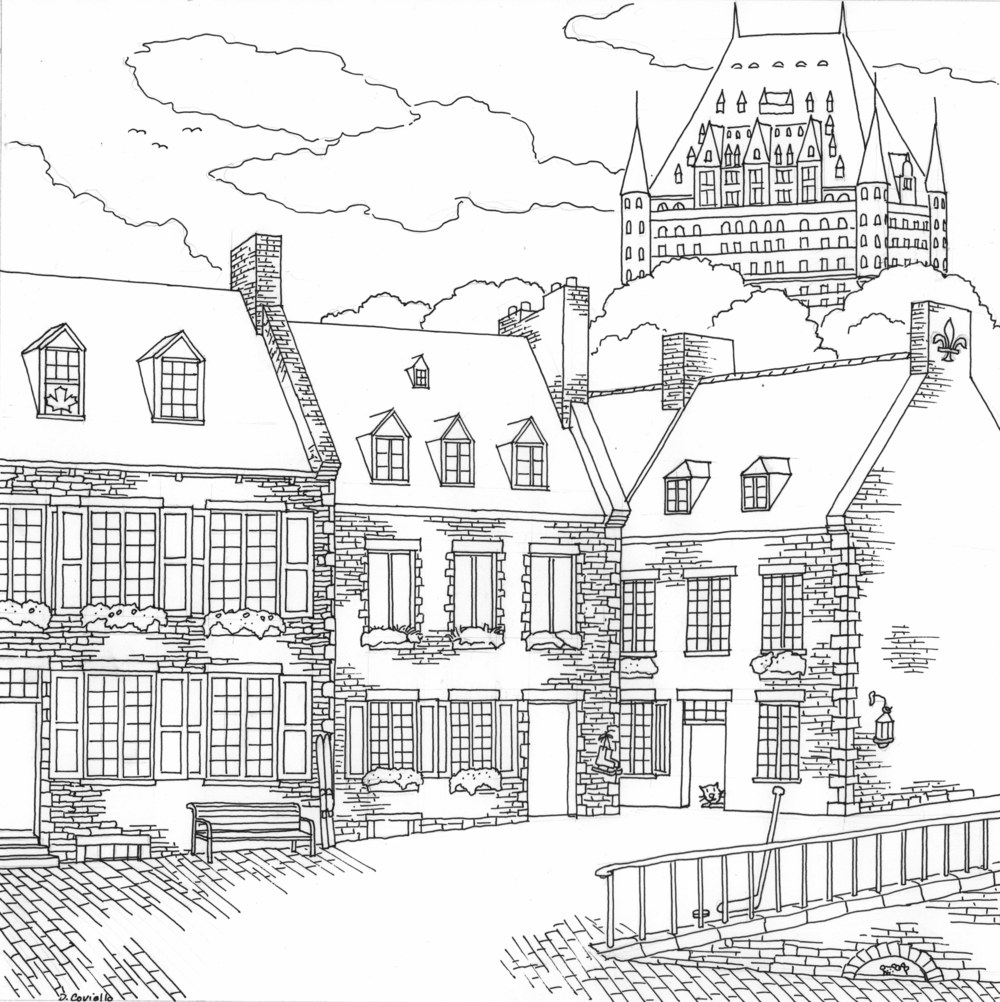 City Of Gold Book Coloring Pages