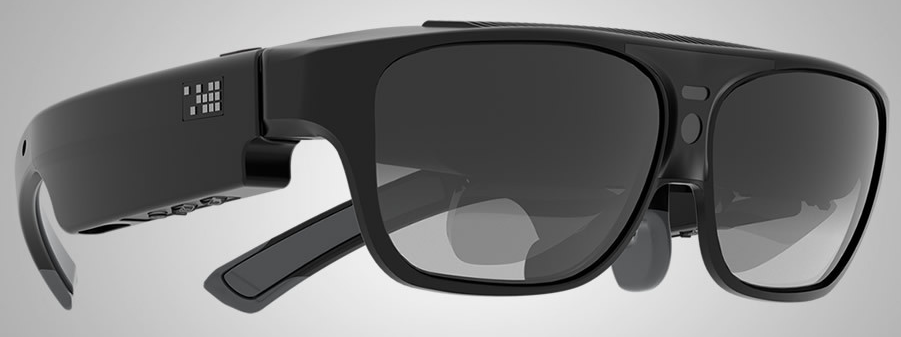 The ODG R-7 Smartglasses. These are something someone could easily wear outside without getting too many odd looks.
