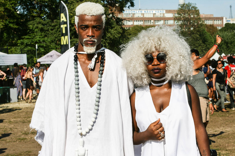 Beautiful people at #Afropunkfest .