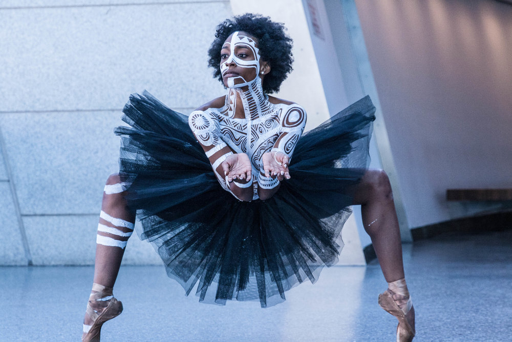 Sacred Art Of the Ori by @laolunyc   / Live Performance Art at the Brooklyn Museum.