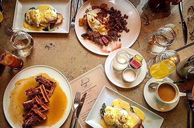 August is like the #Sunday of summer, so make it count. #brunch #sanantonio #Southtown  #foodie #satx #sundayfunday