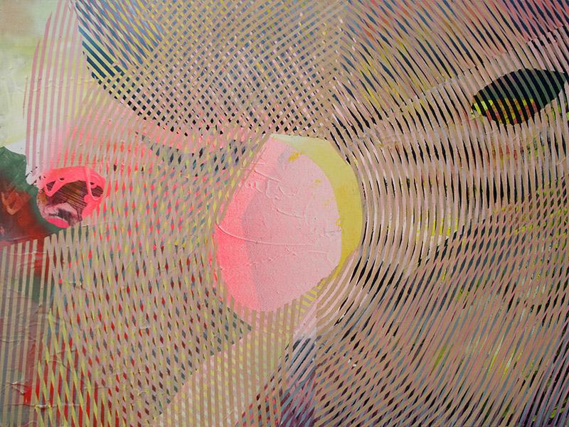 Luxnox   | 2016 | oil, acrylic, enamel and spray enamel on canvas | 72 x 97cm