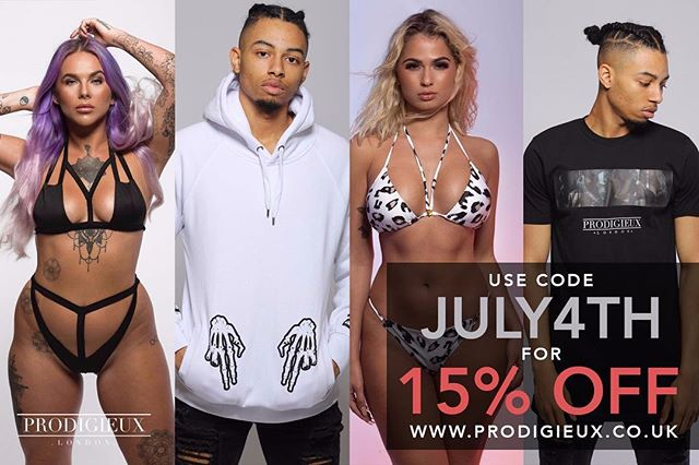 Heatwave, England through to Quarter Finals, Love Island drama at its best... England doesn't get much better! So we thought we'd add a little extra sauce 👀😎.... . . 15% off ENTIRE SITE today only 🤑🤑🤑 Use discount code JULY4TH at checkout 🙌🏽🙌🏽 . . #discount #curvygirl #july4th #curvywomen #shape #shapewear #shapefashion #curvygirl #curvyfashion #curvesarebeautiful #curves #busty #thickwomen #thick #thickthighssavelives #bikini #bikinimodel #swimwear #swimwearmodel #curvymodel #girlswithtattoos #sleevetattoo #worldcup #england #loveisland