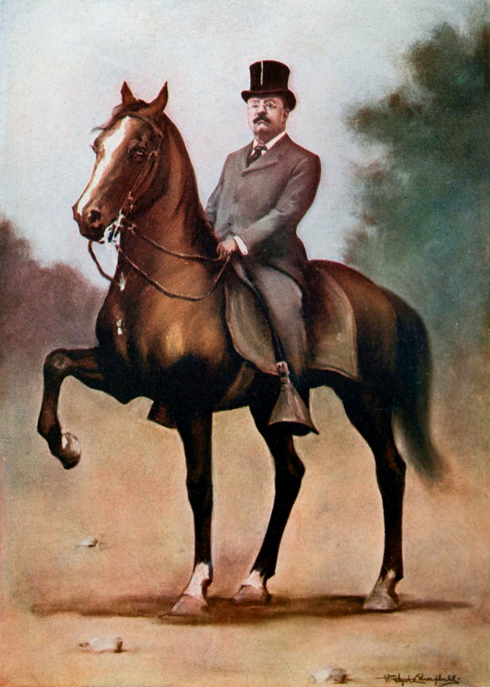 Not that kind of rider, though Teddy Roosevelt is relevant to this podcast.