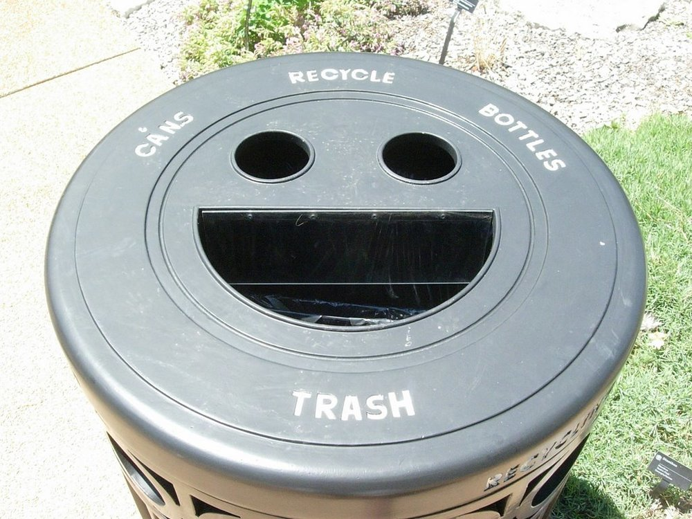 The state of American sex education, or a happy trash can? You decide.