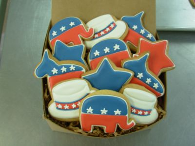I even made cookies for the occasion!