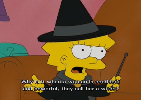 You know why Lisa.