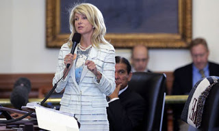 The Texas rules are hardcore, and merit a separate post, but we don't have time for that so enjoy Wendy Davis.