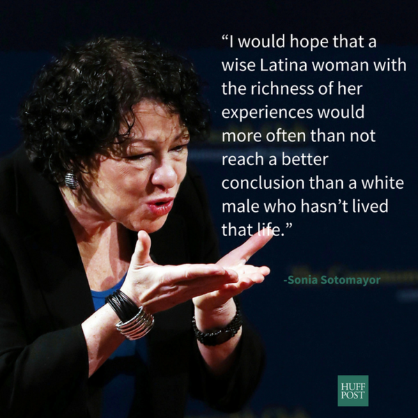 I mean, none will be as good as True Hero, Justice Sotomayor
