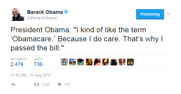 Thanks for caring Obama. We didn't deserve you.