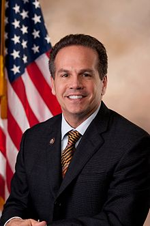 One of only a few openly gay Congresspeople, David Cicilline.
