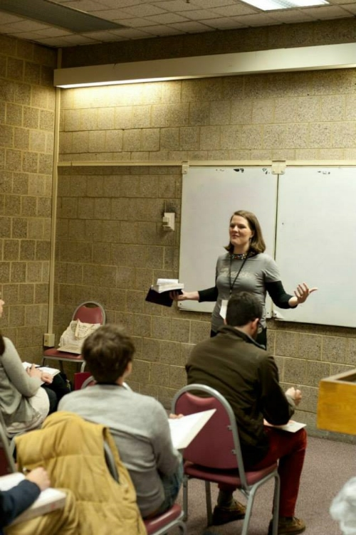 speaking at Bifrost Arts' Cry of the Poor conference in Philadelphia in 2013, still one of my all-time favorite conferences ever