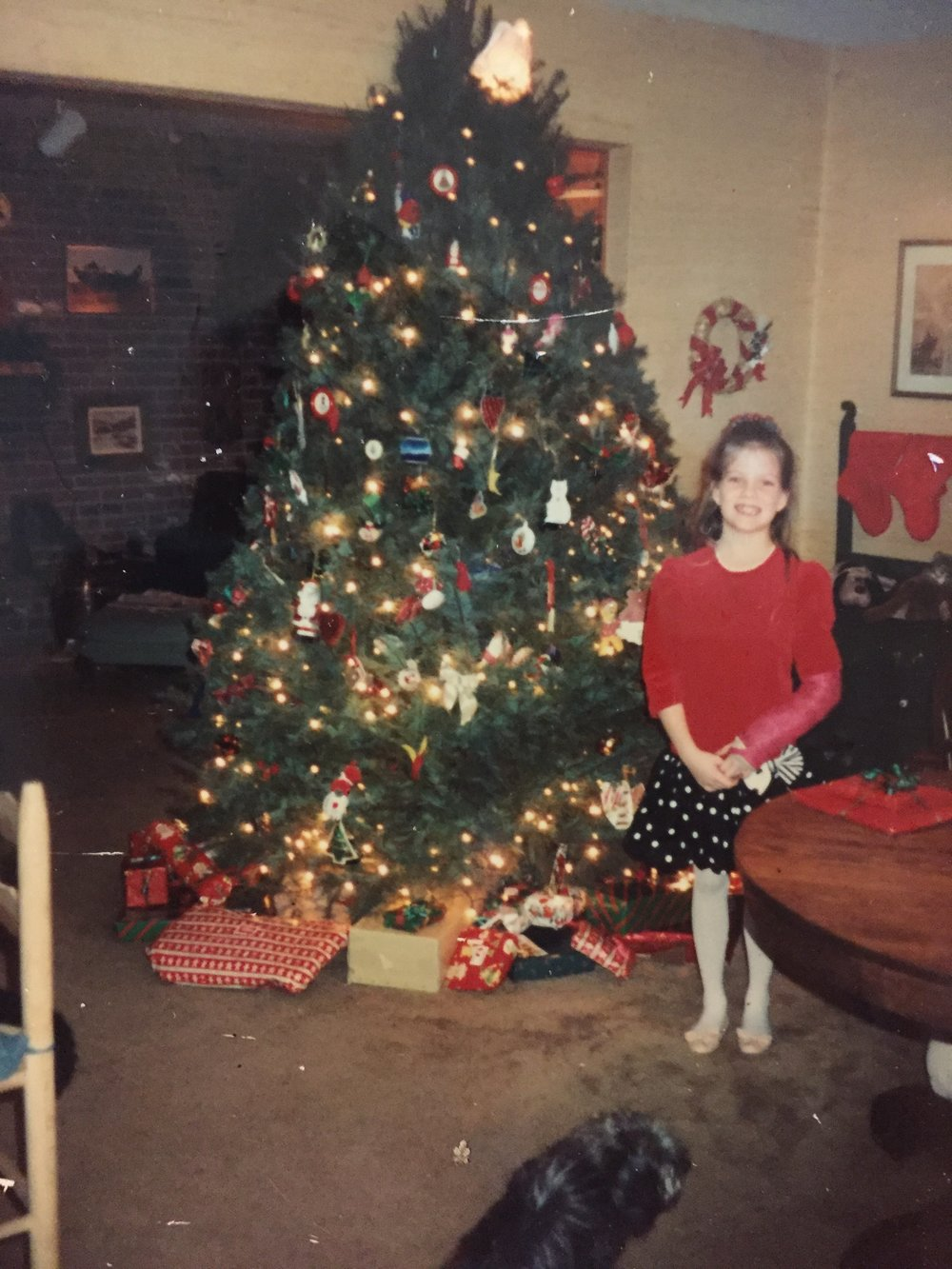 a little Shannon, from the days before Christmas felt like pain for me