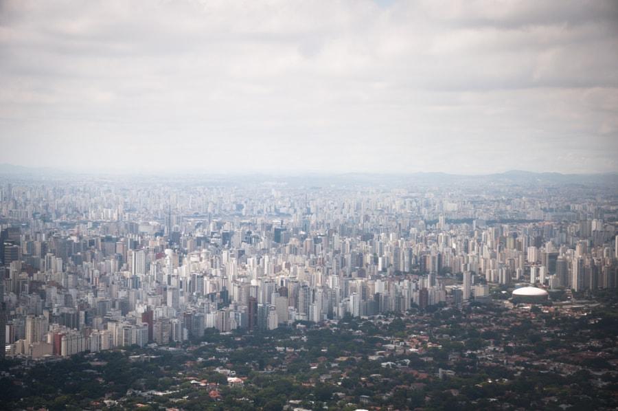 Flying into São Paulo