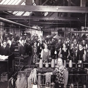 By the 1920s J G Glover employed over 300 people and started to export its products around the world.