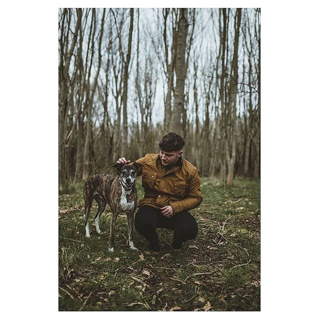 There's nothing better than going on adventures with man's best friend 🐾 Where's your favourite place to take your four legged friends? . . Don't forget to share your photos, use the tag #myperegrine for a chance to be featured on our page. . . 📷 By @_btphotography_ 🧥 = Cambric Baxter in Mustard . . . . . #adventure #dogwalk #menscoat #jacket #outdoors #countryclothing #ruggedstyle #brindle #dogs #dogstagram #bristol #forest #outdoorsman #countryside #countryattire #mansbestfriend #sustainablefashion #british #buybritish #shopindependant #familybusiness #menswear #mensstyle #dogsofinstagram #walking #hiking #countryfashion #woodland #fashionphotography