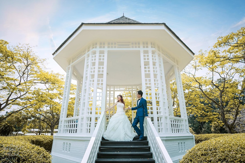 Singapore Wedding Photography Botanic Garden