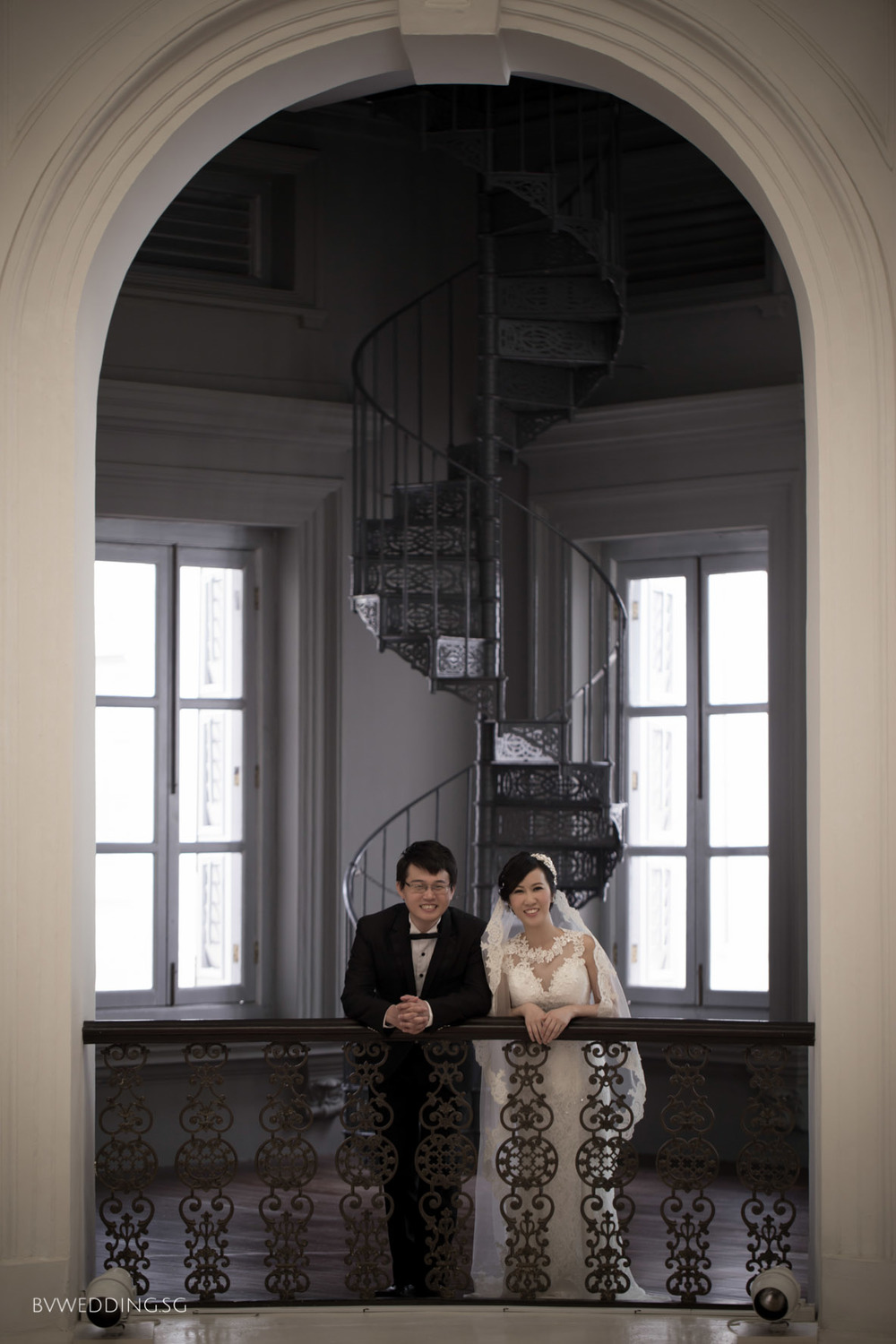 Pre-wedding photoshoot at national museum(indoor)