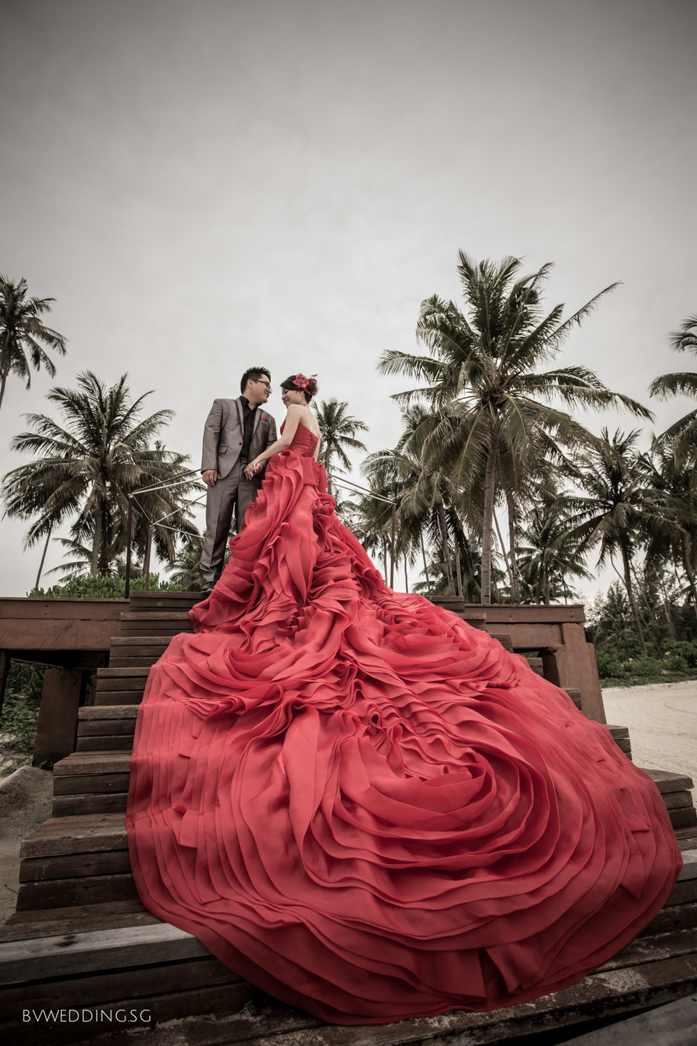Pre-wedding Photoshoot at Bintan Beach