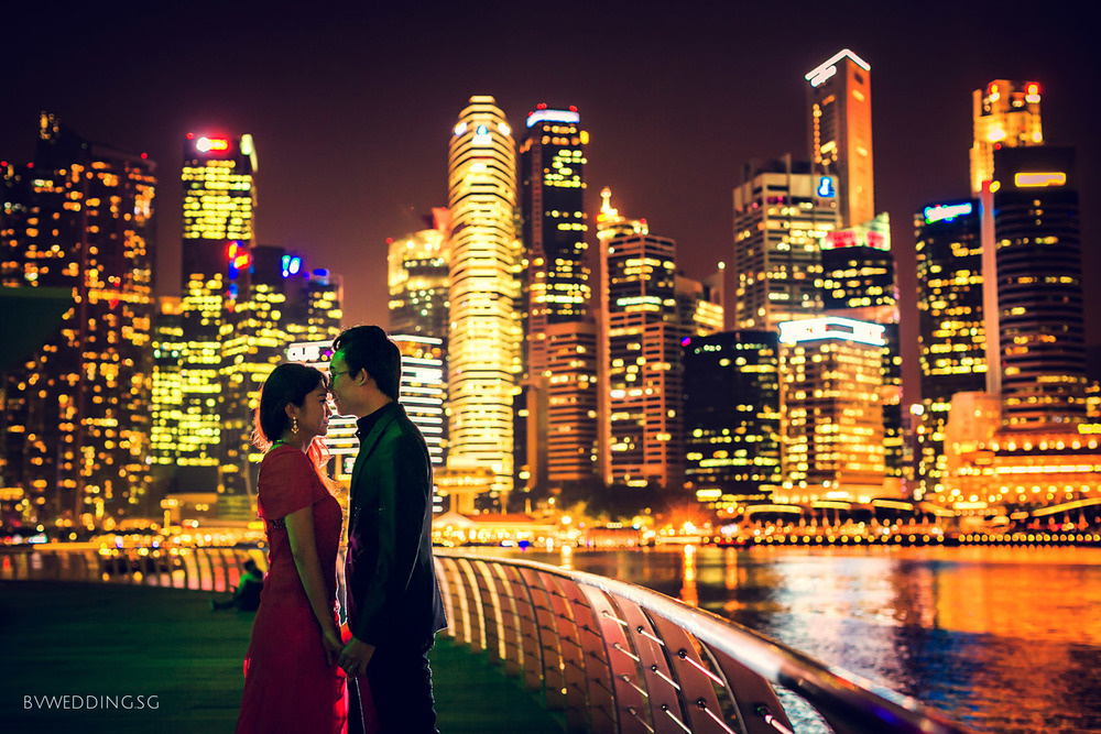 Pre-wedding Photoshoot at Helix Bridge