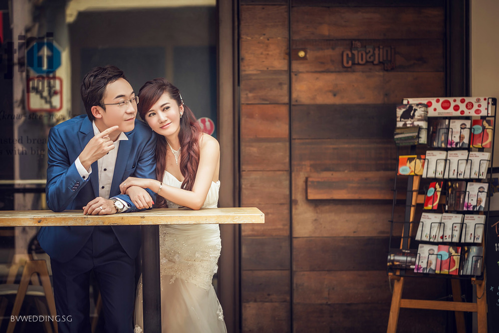 Pre-wedding photoshoot at haji lane