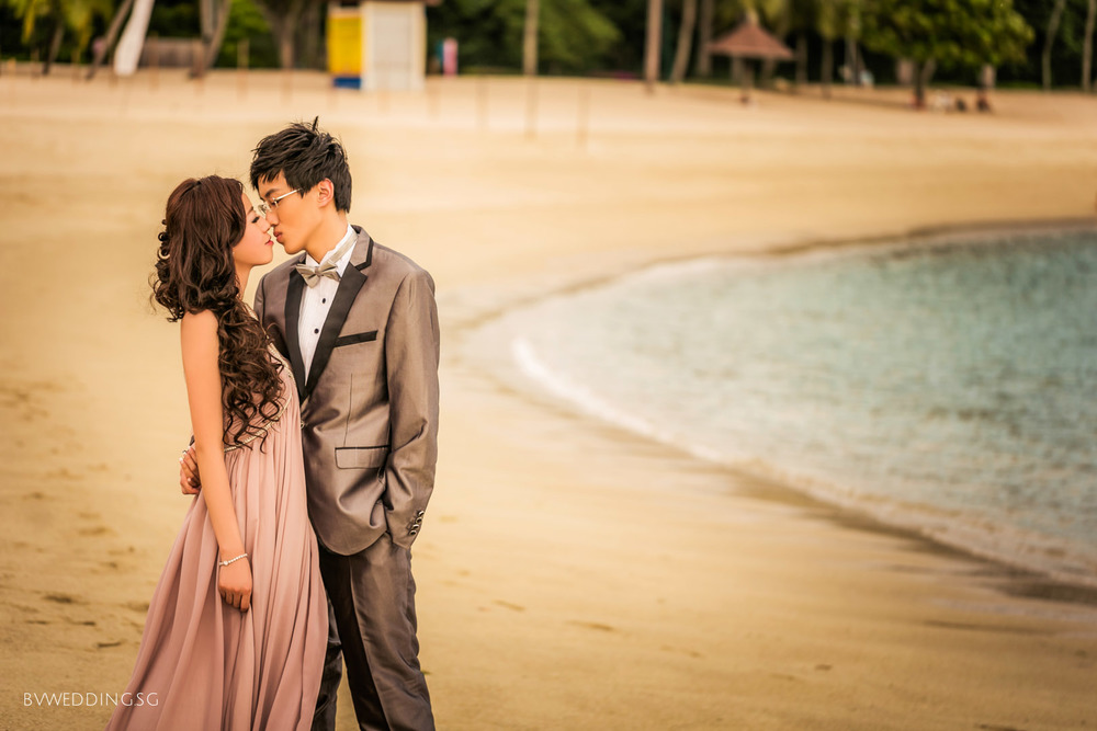 Pre-wedding Photoshoot at Sentosa