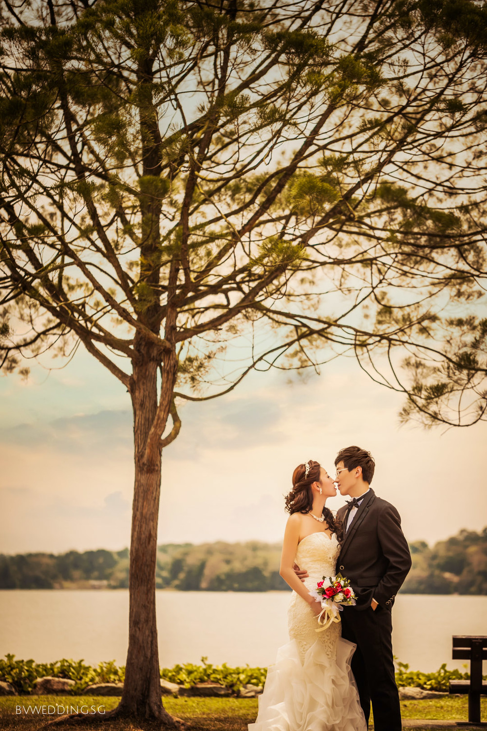 Pre-wedding Photoshoot at upper Seletar
