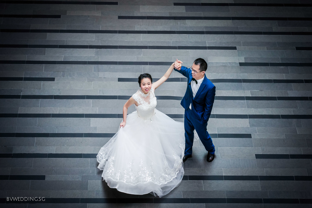 Pre-wedding Photoshoot at Victoria Theatre