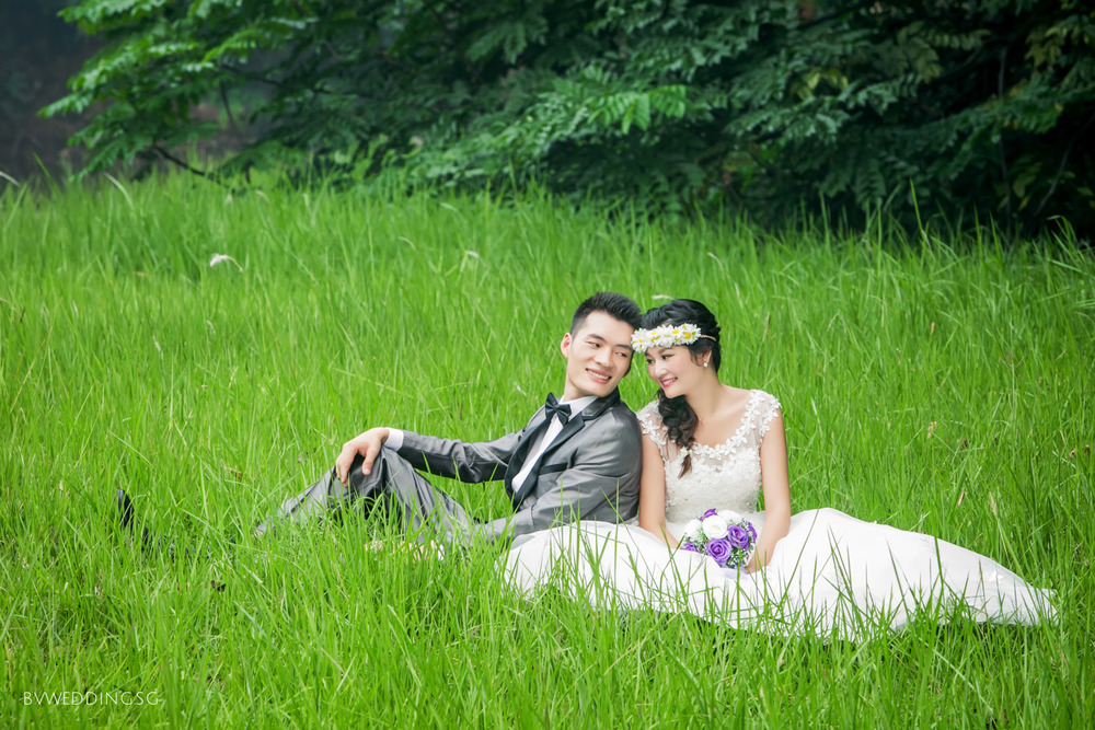 Pre-wedding Photoshoot at Botanic Gardens