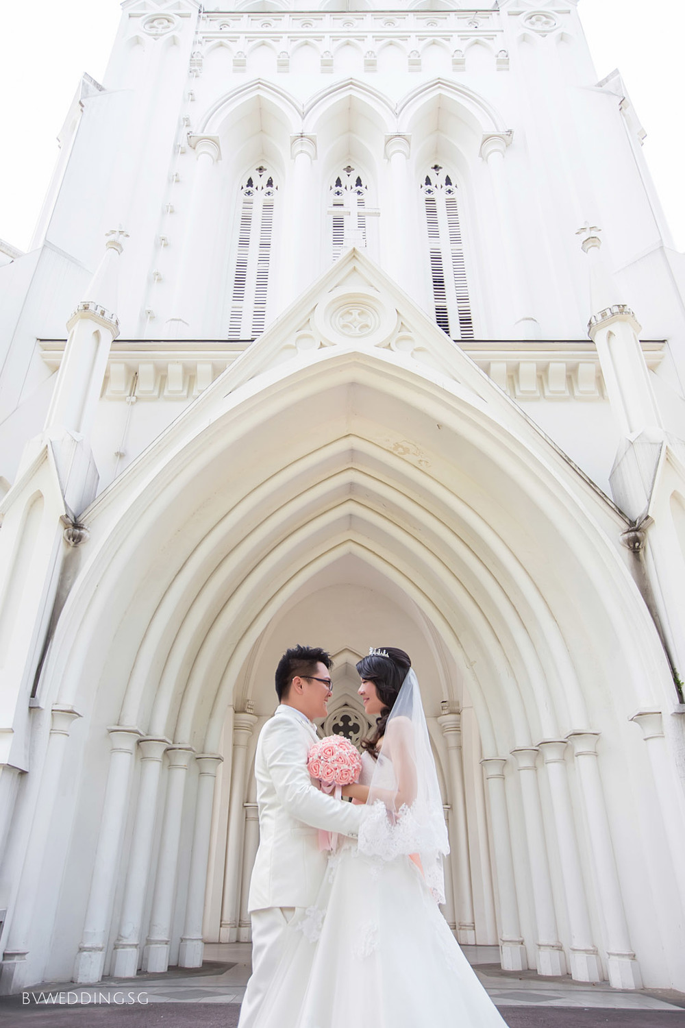 Pre-wedding Photoshoot at St.Andrew Cathedral