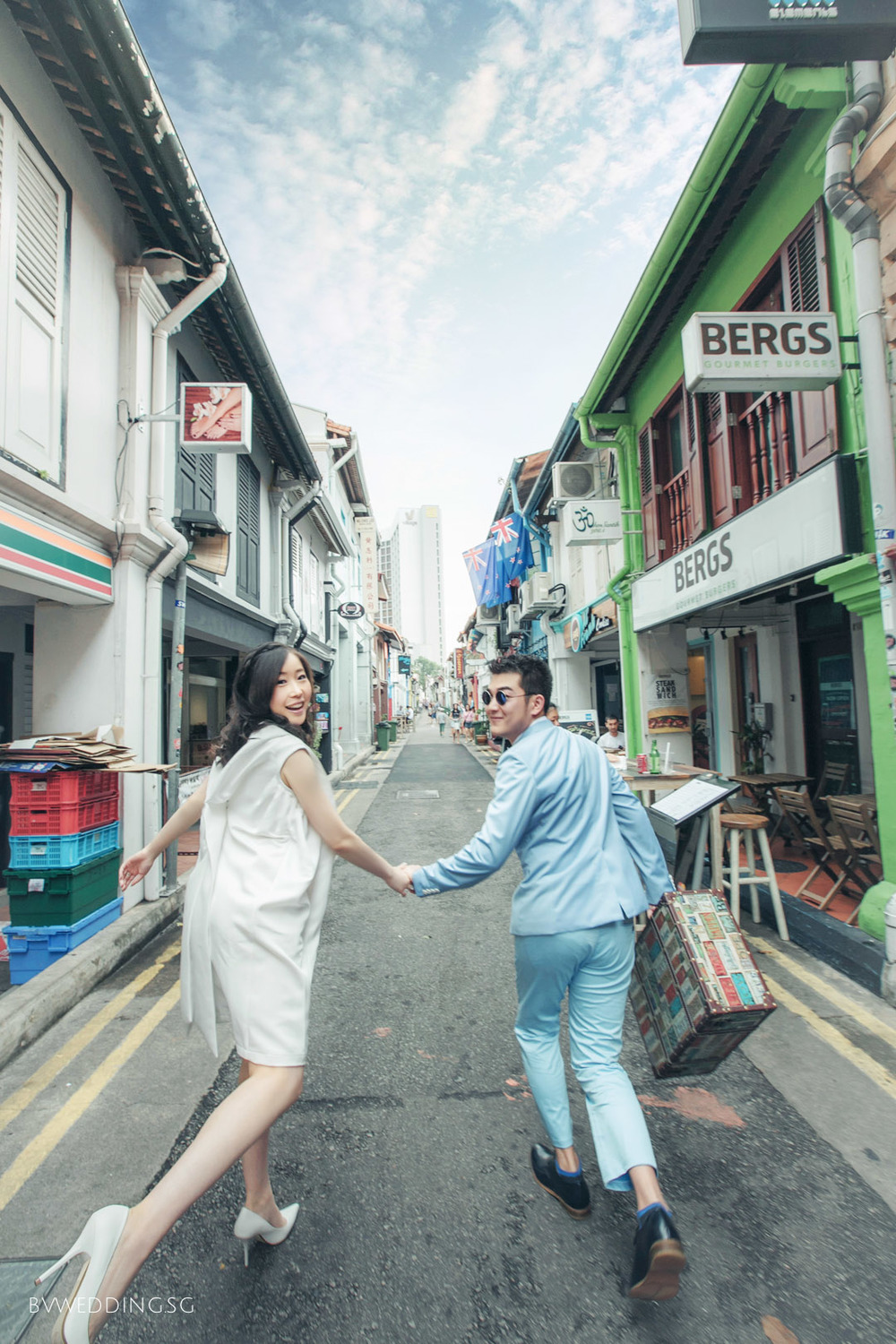 Casual Couple Photoshoot at haji lane