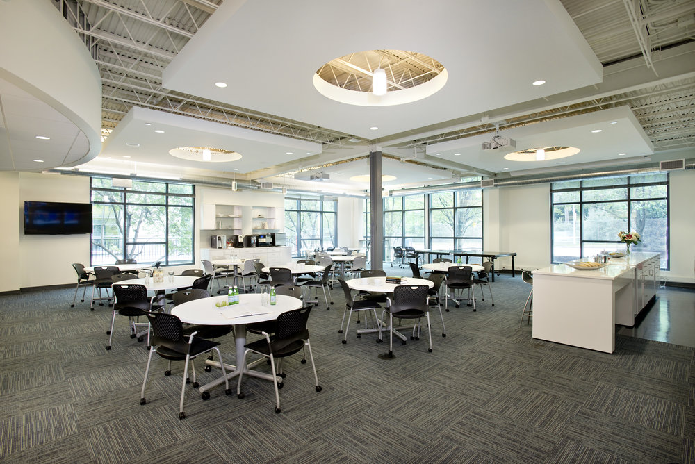 Charles River Analytics Cafe by HDS Architecture