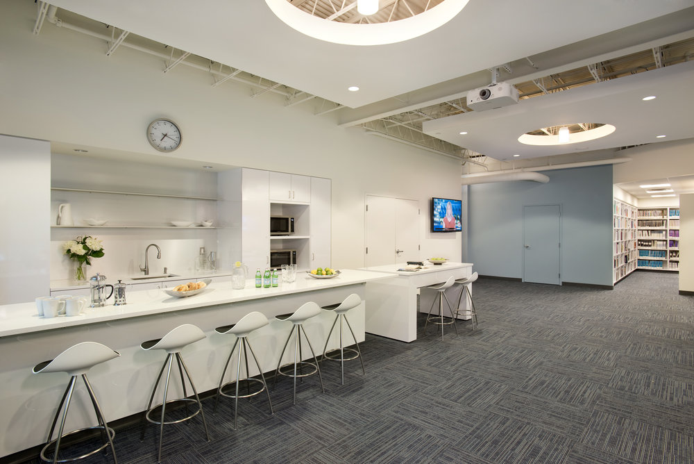 Charles River Analytics Kitchenette by HDS Architecture