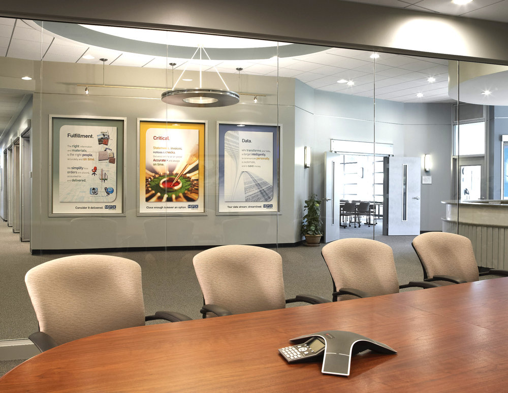 MPX Corporate Headquarters Conference Room by HDS Architecture