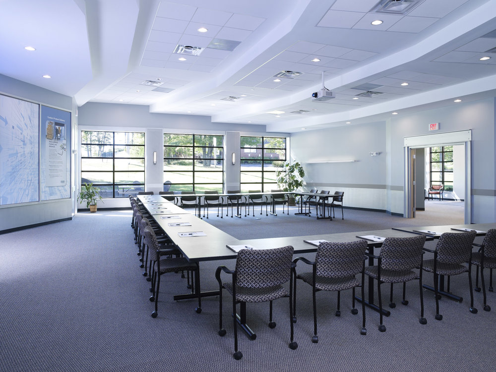 MPX Corporate Headquarters Meeting Room by HDS Architecture