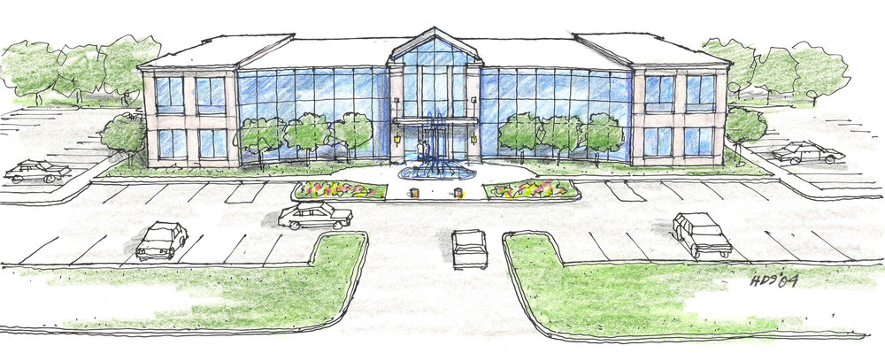 The Real Estate Center Sketch 1 by HDS Architecture