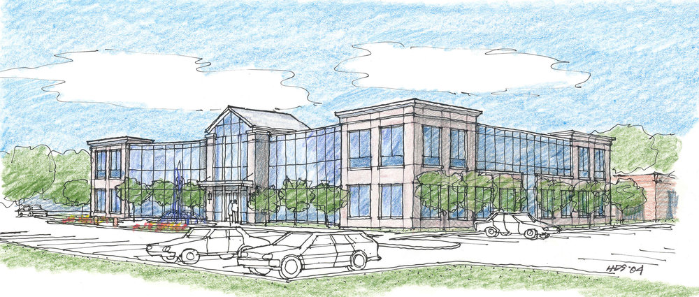 The Real Estate Center Sketch 2 by HDS Architecture
