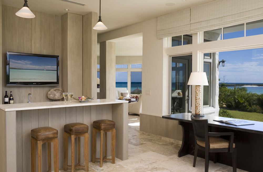 Beachfront Estate Bar by HDS Architecture