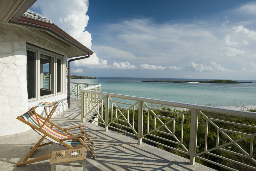 Beachfront Estate Bahamas Terrace by HDS Architecture