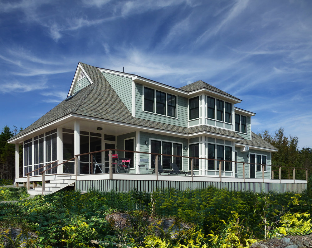 Coastal Residence Maine by HDS Architecture