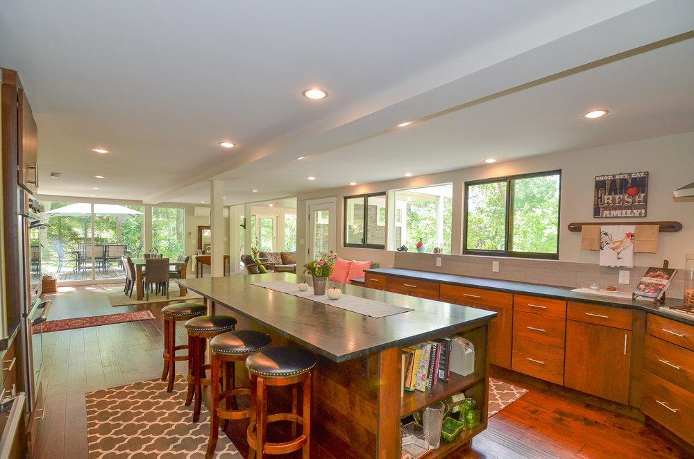 Mid Century Modern Kitchen 2 HDS Architecture