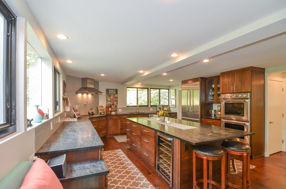 Mid Century Modern Kitchen HDS Architecture