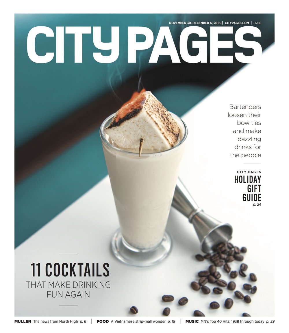 City Pages - Nov. 2016 Cover Story