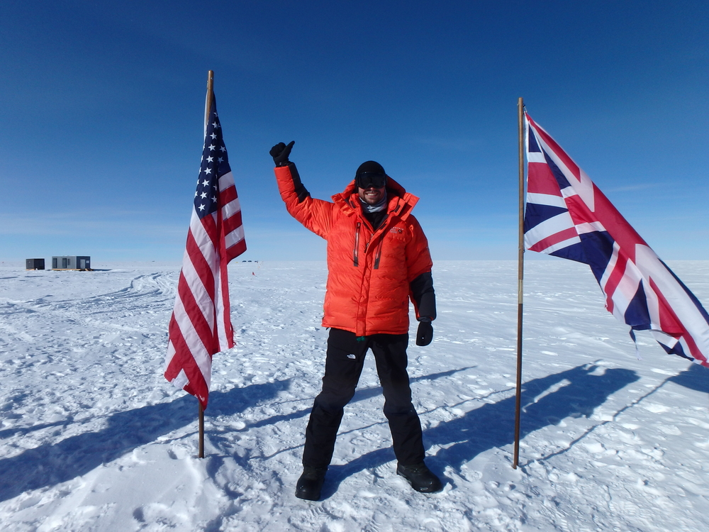 Ceremonial South Pole. December 2014