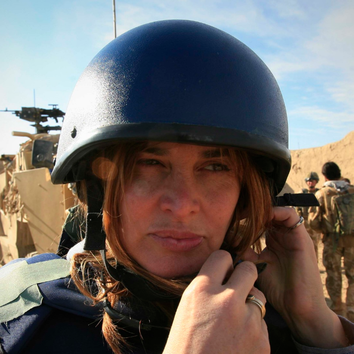 JANINE DI GIOVANNI  is an author, award-winning foreign correspondent and current Middle East editor at Newsweek.  Read Full Bio here .  View her work here .  Mentorship Beat: War Correspondence, Careers.