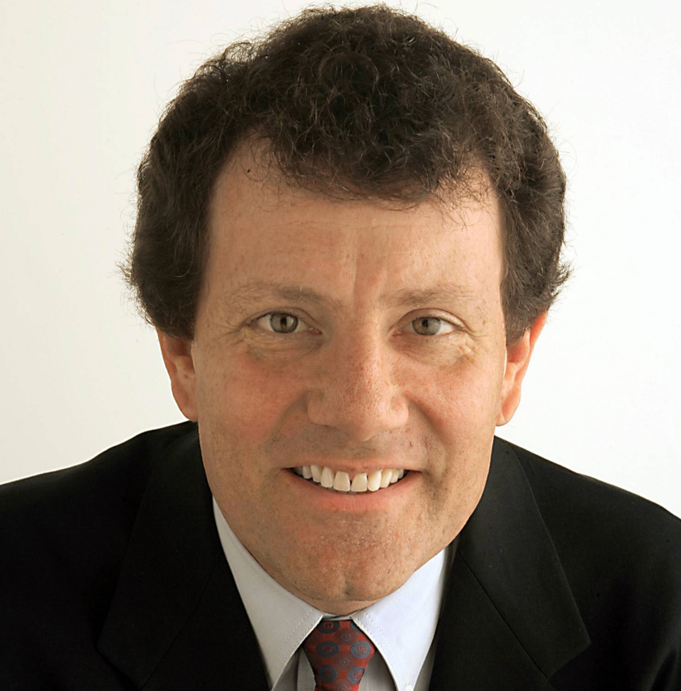 Nicholas Kristof  is an Op-Ed columnist for  The New York Times  covering Human rights, women's rights, health,  and global affairs.  He has won two Pulitzer Prizes for his coverage of Tiananmen Square and the genocide in Darfur, in addition to many humanitarian awards. He is the author of several books including  A Path Appears  and  Half the Sky , a No. 1 best seller.