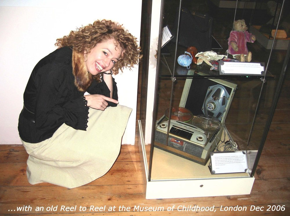 JARMILA XYMENA GORNA - THE CHILDHOOD SOUND ENGINEERING - EXHIBIT AT THE MUSEUM OF CHILDHOON, LONDON