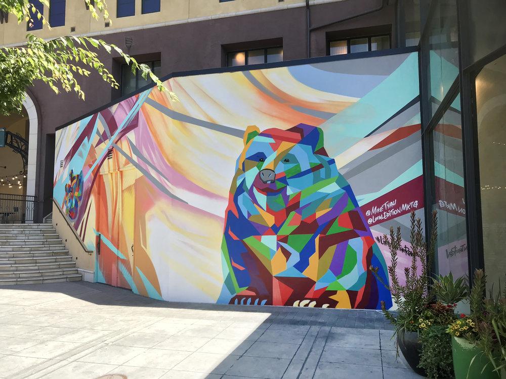 Santana Row Mural, San Jose, Ca