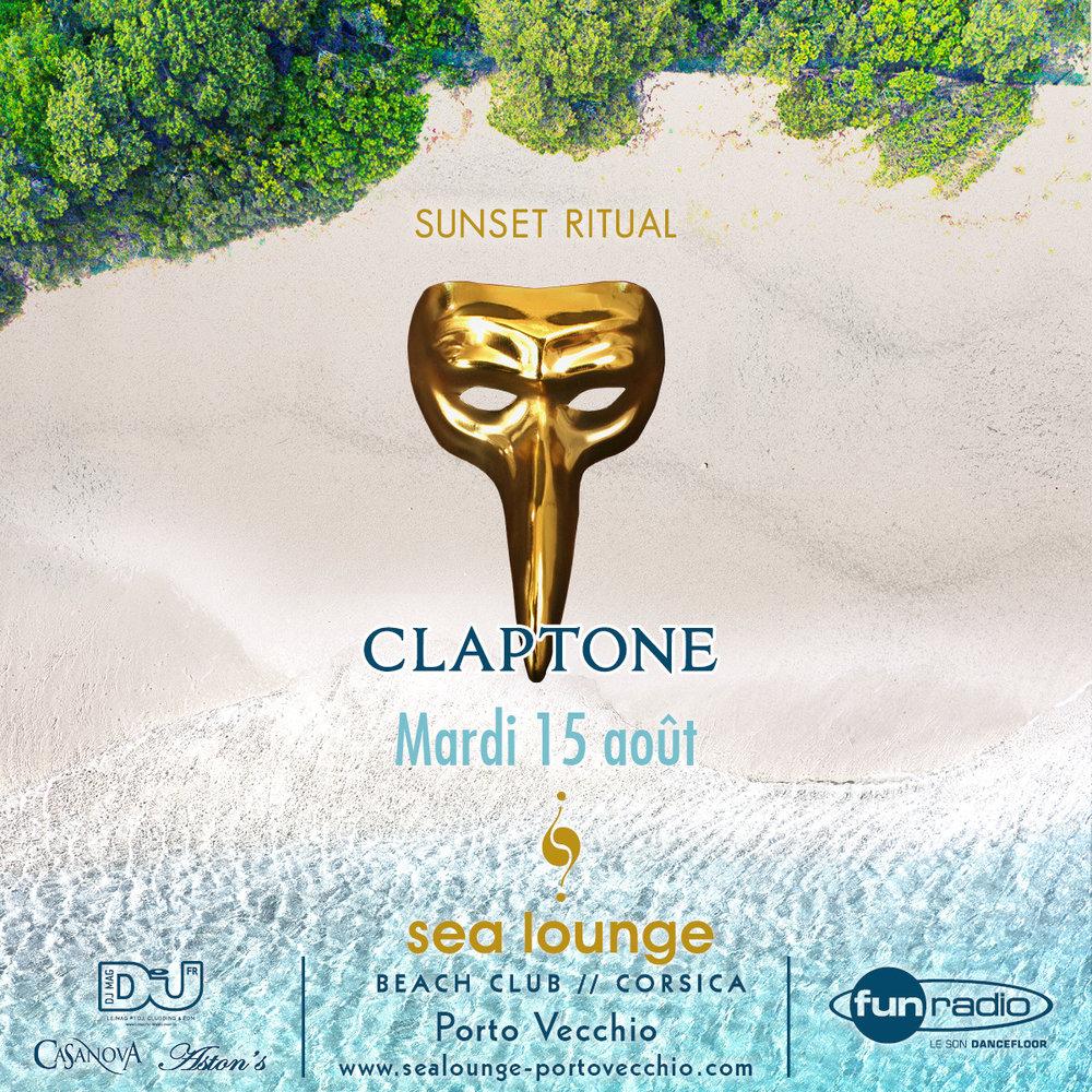 Claptone Sea Lounge Porto Vecchio